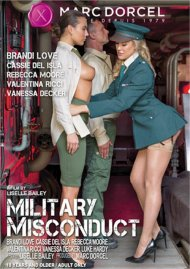 Military Misconduct porn DVD shot in 4K HD.