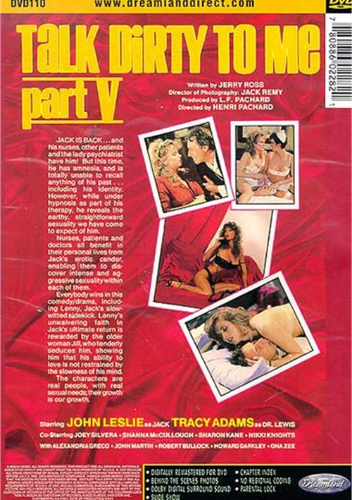 Back cover of Talk Dirty To Me 5