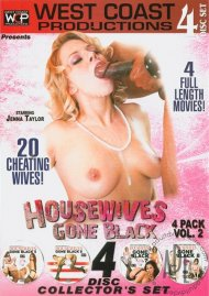 Housewives Gone Black 4 Pack Vol. 2 Porn Movie