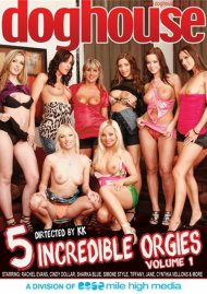 5 Incredible Orgies Vol. 1 Porn Movie