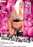 MILF Amore 6: Christie Dom 2 Men For Me Porn Video