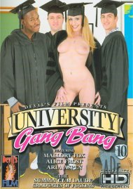 University Gang Bang 10 Porn Movie