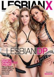 Lesbian DP porn DVD shot in HD from LesbianX.