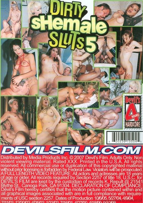 Dirty shemale sluts 5