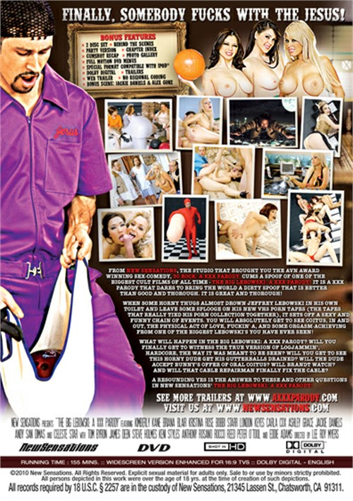 Back cover of The Big Lebowski: A XXX Parody