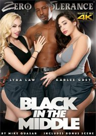 Black In The Middle porn DVD shot in HD.