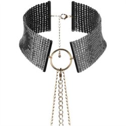 Bijoux Indiscrets: Desir Metallique Collar - Black Sex Toy