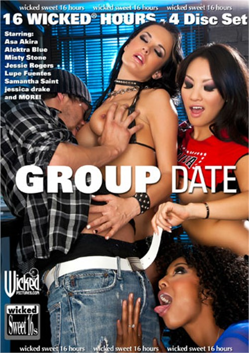 Group Date - Wicked 16 Hours Compilation Threesomes Boxed Sets