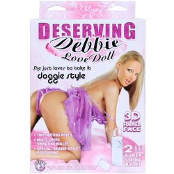 Deserving Debbie Doggie Style Love Doll Sex Toy