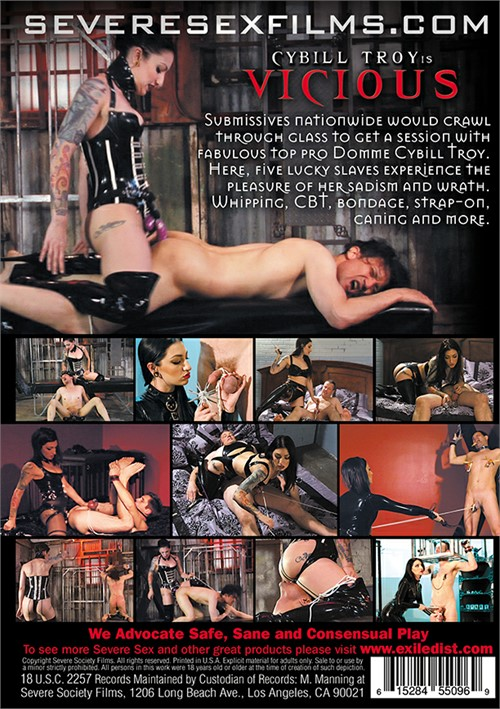 Back cover of Cybill Troy Is Vicious