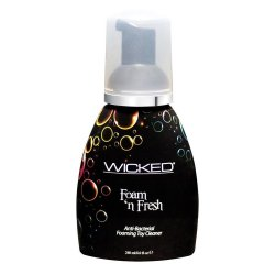 Wicked Foam N Fresh Anti-Bacterial Foaming Toy Cleaner - 8 oz. Sex Toy