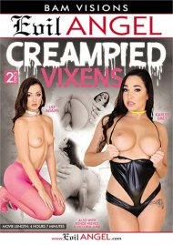 Creampied Vixens HD porn video from Evil Angel.