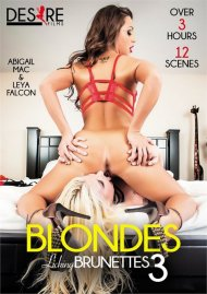 Blondes Licking Brunettes 3