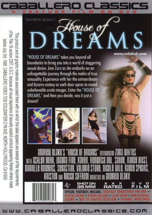 Back cover of House Of Dreams