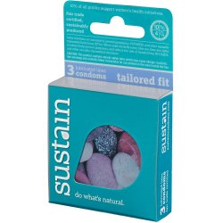 Sustain Tailored Fit Condom - 3 Pack Sex Toy
