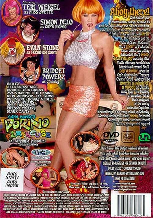 Back cover of Cap'n Mongo's Porno Playhouse