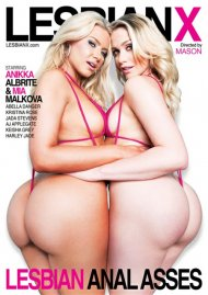 Lesbian Anal Asses DVD porn movie from LesbianX.