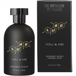 Lure Black Label You & Me - Pheromone Infused Personal Scent - 2.5 fl oz Sex Toy