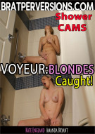 Voyeur: Blondes Caught! Porn Video