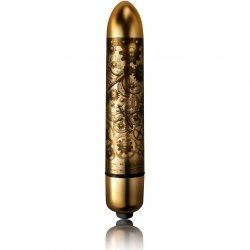 Rocks Off X3 RO-90 Halcyon Bullet - Brushed Gold Sex Toy