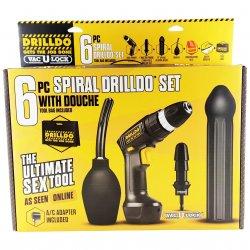 Drilldo 6 Piece Spiral Starter Set Sex Toy