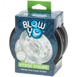 Blow Yo - Intense Ticklers - Intense Oral Super Stroker - Clear sex toy from Lovehoney.