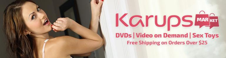 Welcome to the Karups Market DVD, sextoy and Video on Demand theatre and store.