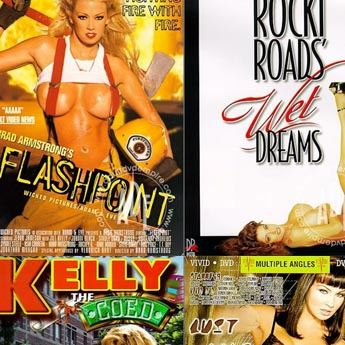 Porn bestsellers from 1999, including Flashpoint and more.