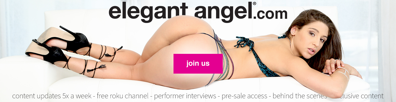 Welcome to the Elegant Angel Store official on Demand theatre and store.