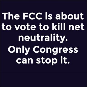 The FCC is about to kill net neutrality, and only Congress can stop it.